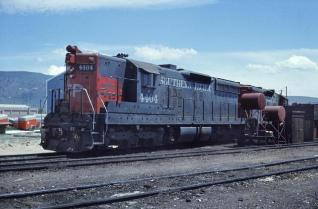 Oregon California & Eastern Railroad- Leased Locomotives